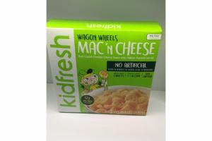 MAC'N CHEESE WAGON WHEELS