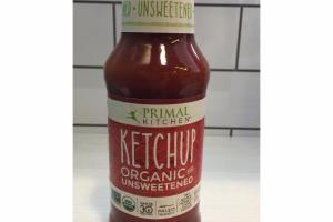 ORGANIC AND UNSWEETENED KETCHUP