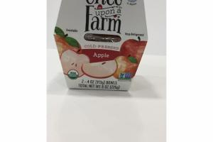 APPLE COLD-PRESSED ORGANIC BABY FOOD