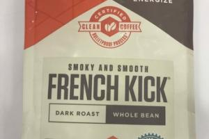 DARK ROAST FRENCH KICK WHOLE BEAN 100% ARABICA COFFEE