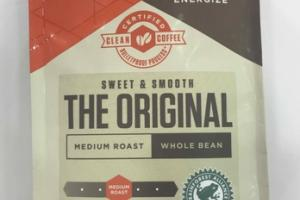 SWEET & SMOOTH THE ORIGINAL MEDIUM ROAST WHOLE BEAN 100% ARABICA COFFEE