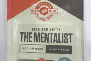 MEDIUM DARK RICH AND NUTTY THE MENTALIST WHOLE BEAN COFFEE