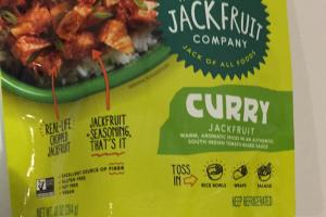 Curry Jackfruit