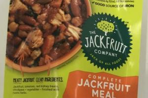 RED KIDNEY BEANS + TOMATO + RUSTIC HERBS COMPLETE JACKFRUIT MEAL