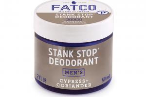 MEN'S STANK STOP DEODORANT, CORIANDER + SCOTCH PINE