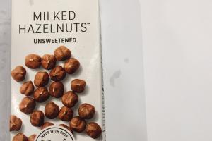 Milked Hazelnuts
