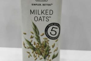 MILKED OATS