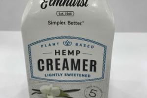 FRENCH VANILLA FLAVORED LIGHTLY SWEETENED PLANT BASED HEMP CREAMER