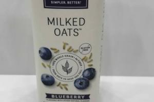 BLUEBERRY MILKED OATS