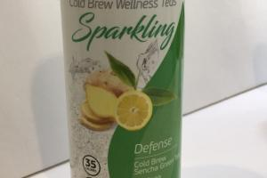 Sparkling Cold Brew Sencha Green Tea