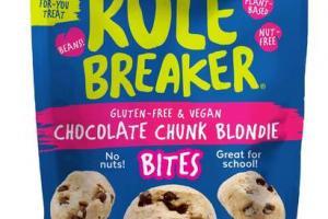 GLUTEN-FREE & VEGAN CHOCOLATE CHUNK BLONDIE BITES