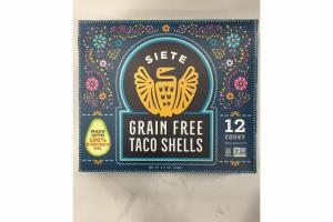GRAIN FREE TACO SHELLS