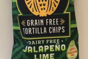 JALAPENO LIME GRAIN FREE TORTILLA CHIPS