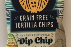 RESTAURANT STYLE GRAIN FREE TORTILLA CHIPS
