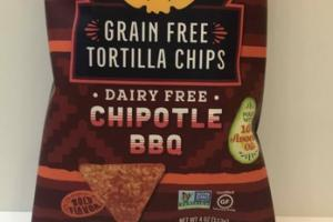 GRAIN FREE CHIPOTLE BBQ TORTILLA CHIPS