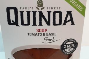 Organic Tomato & Basil Soup