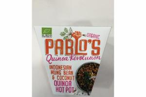 INDONESIAN MUNG BEAN & COCONUT QUINOA HOT POT ORGANIC QUINOA REVOLUCION