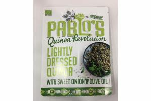 ORGANIC LIGHTLY QUINOA REVOLUTION WITH SWEET ONION & OLIVE OIL