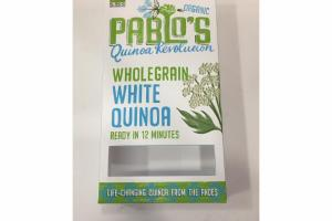 ORGANIC WHOLEGRAIN WHITE QUINOA