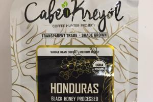 Honduras Medium Roast Whole Bean Coffee
