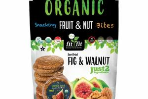ORGANIC SUN-DRIED FIG & WALNUT SNACKING FRUIT & NUT BITES