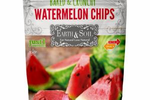 BAKED & CRUNCHY WATERMELON CHIPS