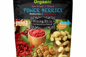 MULBERRIES & GOJI BERRIES SUN-DRIED / DRIED POWER BERRIES