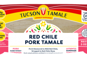 RED CHILE PORK TAMALE