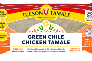 GREEN CHILE CHICKEN TAMALE