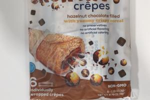 Hazelnut Chocolate Filled With Yummy Crispy Cereal
