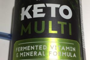 Fermented Vitamin & Mineral Formula Whole Food Dietary Supplement