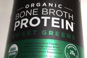 Organic Bone Broth Protein Whole Food Dietary Supplement