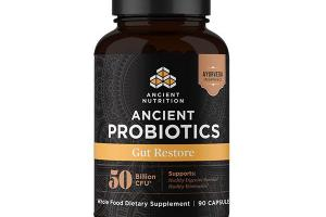 ANCIENT PROBIOTICS GUT RESTORE WHOLE FOOD DIETARY SUPPLEMENT CAPSULES