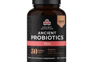 ANCIENT PROBIOTICS SKIN 50 BILLION CFU WHOLE FOOD DIETARY SUPPLEMENT CAPSULES
