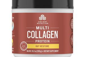 NATURAL LEMON GINGER MULTI COLLAGEN PROTEIN DIETARY SUPPLEMENT