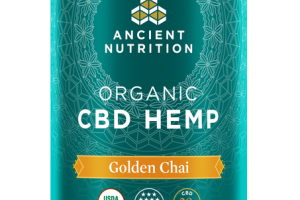 ORGANIC GOLDEN CHAI CBD HEMP DIETARY SUPPLEMENT