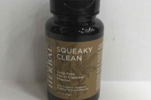SQUEAKY CLEAN SOAP FREE FACIAL CLEANER POWDER