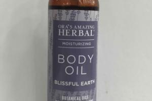 BLISSFUL EARTH MOISTURIZING BODY OIL