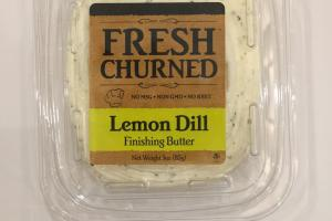 Lemon Dill Finishing Butter