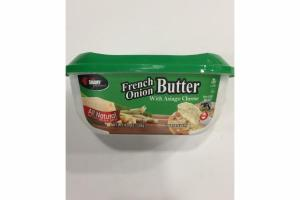 ALL NATURAL GOURMET FRENCH ONION BUTTER WITH ASIAGO CHEESE