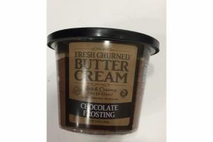 BUTTER CREAM CHOCOLATE FROSTING