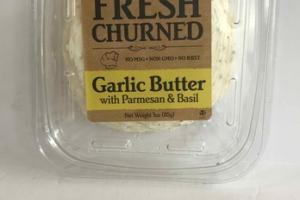 GARLIC BUTTER WITH PARMESAN & BASIL