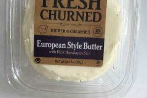 EUROPEAN STYLE BUTTER WITH PINK HIMALAYAN SALT