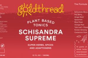 SCHISANDRA SUPREME PLANT BASED TONICS