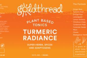 PLANT BASED TONICS TURMERIC RADIANCE