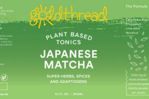 JAPANESE MATCHA PLANT BASED TONICS