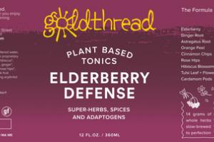 ELDERBERRY DEFENSE PLANT BASED TONICS