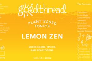 LEMON ZEN PLANT BASED TONICS