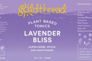 LAVENDER BLISS PLANT BASED TONICS