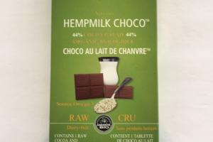 Artisan Hempmilk Choco, Cocoa And Hemomilk Bar